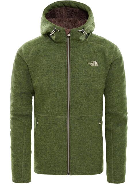The North Face M's Zermatt Full Zip Hoddie Jacket Four Leaf Clover Heather
